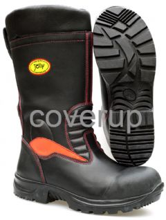 JOLLY LEATHER FIREFIGHTER BOOTS 9006/G SIZE 41/UK6.5